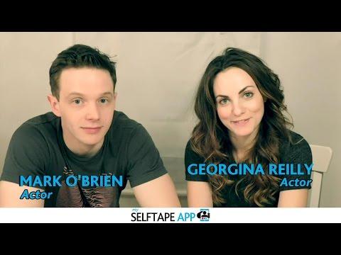 My Selftape App Testimonial  Georgina Reilly & Mark O'Brien