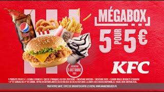 5 produits pour 5€, la Mégabox pour les Mégafaims