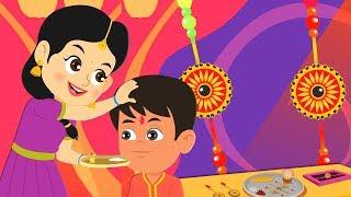 Happy Raksha Bandhan Song | Hindi Nursery Rhymes | Raksha Bandhan Wishes | रक्षाबंधन गीत