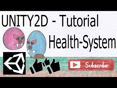 Unity2D Platformer Tutorial 016: How to create a simple Health/Damage - system thumbnail