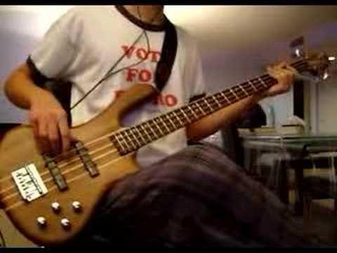 Bass Cover- Rage Against The Machine - Vietnow