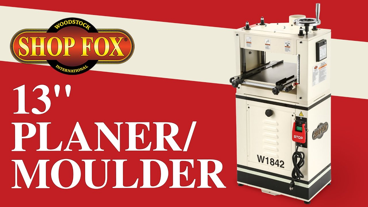 Shop Fox W1842 Planer/Moulder