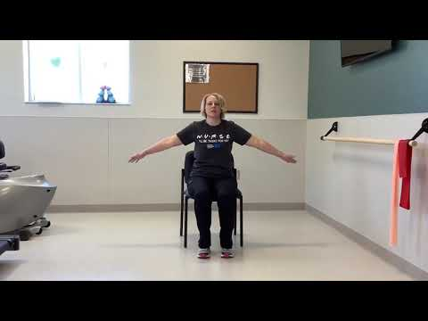 Cardiopulmonary Rehab Sitting Stretches