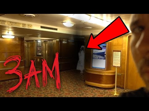 LOST ALONE 3AM on The QUEEN MARY (GONE WRONG) Or Right ??