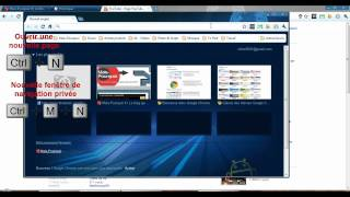 Raccourcis clavier - Navigateurs web (sous Windows)
