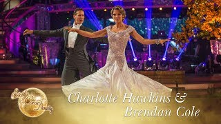Charlotte Hawkins and Brendan Cole Foxtrot to 'The Best Is Yet To Come' - Strictly Come Dancing 2017