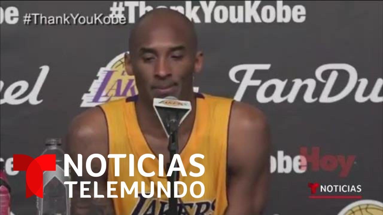 Kobe Bryant y su habilidad perfecta de hablar español | Noticias Telemundo