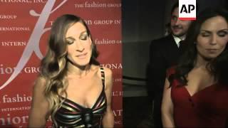 Sarah Jessica Parker talks politics at NYC gala honoring designer Carolina Herrera
