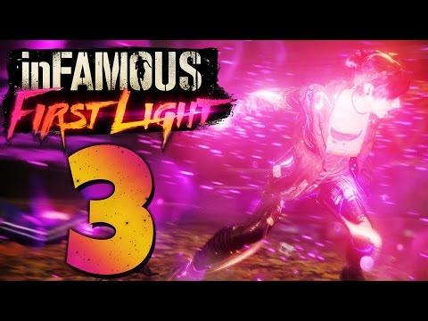 INFAMOUS: FIRST LIGHT #03 - Videoüberwachung in Seattle! [HD/GER/100%]