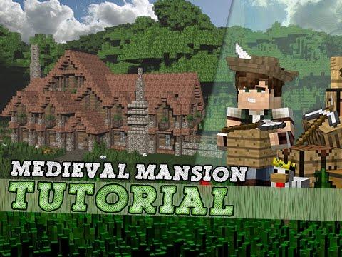 Minecraft Tutorial Medieval Survival Mansion Part 1 2 Youtube