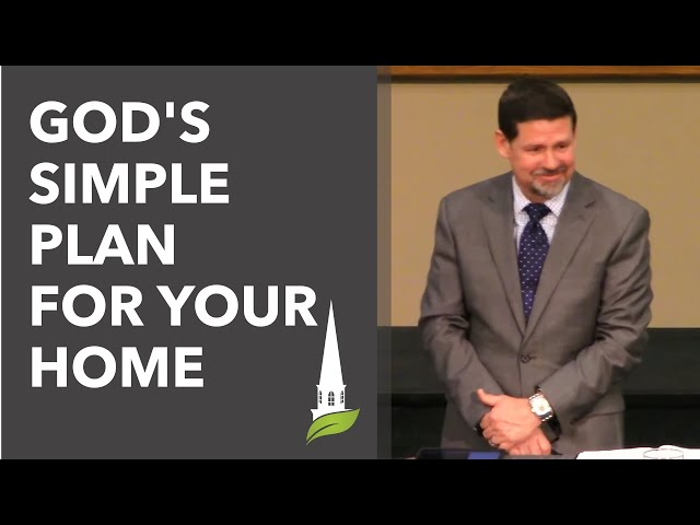 Dave Young: God's Simple Plan for Your Home