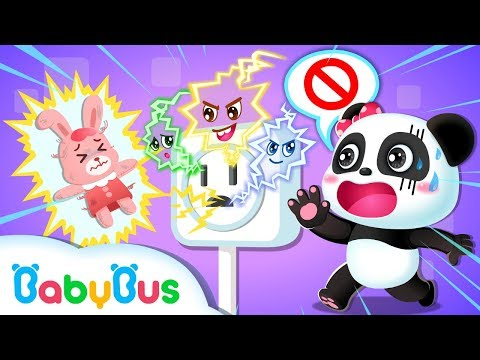 Rabbit Momo, Electricity is Dangerous | Electricity Safety Tips for Kids | Kids Safety Tip | BabyBus