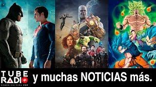 Tube Radio: ¡SE ACABÓ! Adiós a Batman y Superman, Vengadores 4, Joker, Watchmen, Tom y Jerry