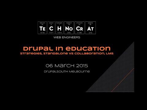 Using Drupal in education