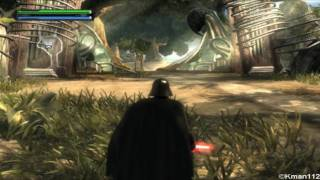 Star wars: The Force Unleashed Ultimate sith edition Pc gameplay.