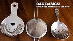 Strainers   Bar Basics