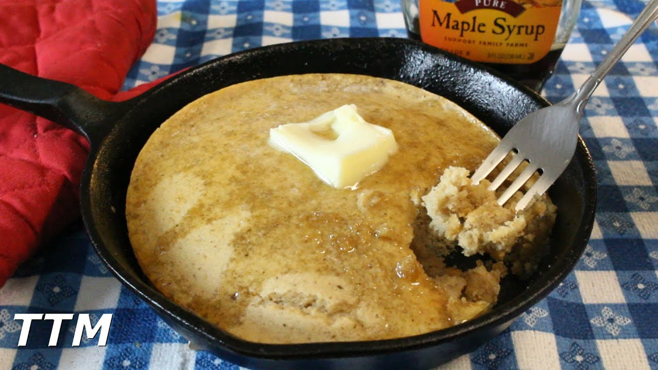 How To Cook Pancakes In The Toaster Oven~what Happens If You Bake Pancake  Mix?