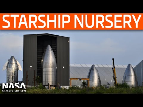 SpaceX Boca Chica - New Starships Take Shape as SN5 Awaits Testing