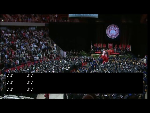 Illinois State Univeristy Spring Commencement - College of Arts and Sciences