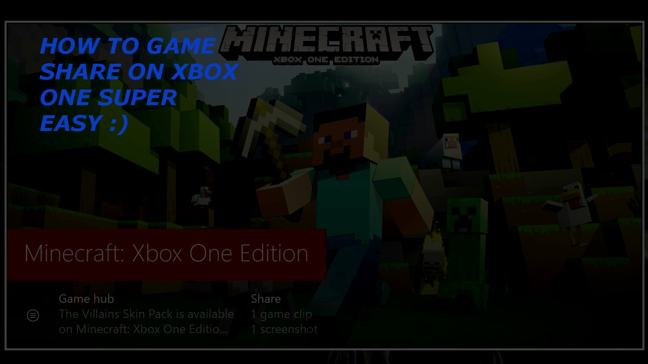 How to game share on xbox one 1000000 shit video youtube how to game share on xbox one 1000000 shit video ccuart Images