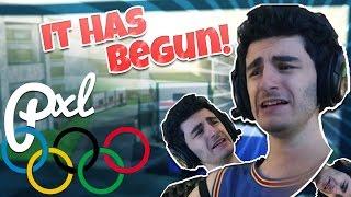 Que LES JEUX BEGIN (fr) Les Jeux Olympiques de Pxl (fr) Forces fantômes ROBLOX