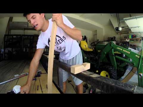 How To Make A Wooden Lacrosse Shaft