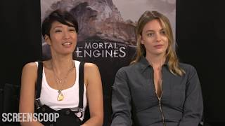 Mortal Engines Press Junket Interview - Jihae & Leila George