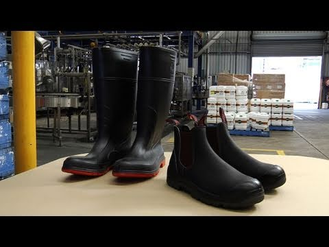 Foot Safety in the Workplace - Safetycare Workplace Safety Video - PPE free
