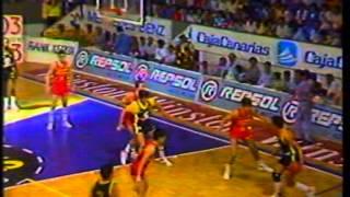 CajaCanarias Estudiantes ACB 1986