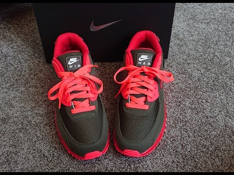 unboxing unpacking NIKE Air Max 1 DLX Atmos Animal 2 0 code