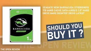 Seagate New BarraCuda ST1000DM010 1TB Hard Drive Bare Desktop Drive Latest