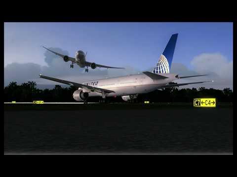 HIJACKING!!! Virgin Atlantic 777-200 Low Pass at Changi Airport (FSX Game 2018)