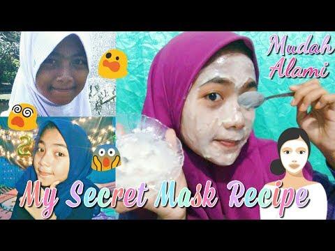 Masker Ampuh Untuk Mencerahkan Wajah! Cocok untuk Remaja - My Secret Mask Recipe - MUST TRY!