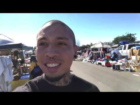 Vlog 2: A typical day at Kobey's Swap Meet - San Diego