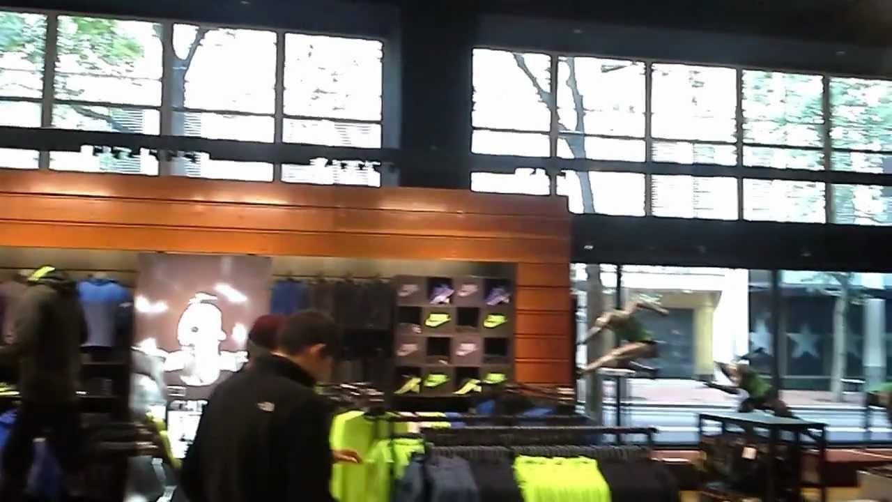 Niketown, downtown Portland, Oregon - YouTube