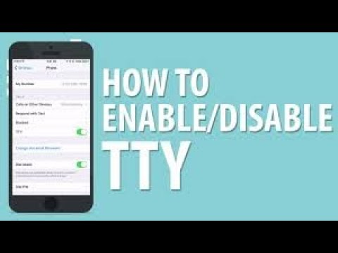 what is tty mode and how to enable and disableby the android guru 23