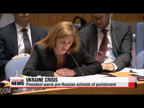 """Ukraine vows to launch """"anti-terrorist"""" operation against pro-Russian forces"""