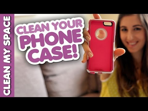 How to Clean A Phone Case!  (Clean My Space)