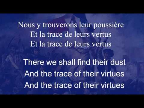 La Marseillaise, the Song of Marseille, with French Lyrics and English Translations