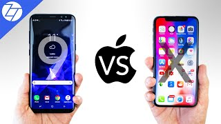 Samsung Galaxy S9 vs iPhone X - Which One to Get?