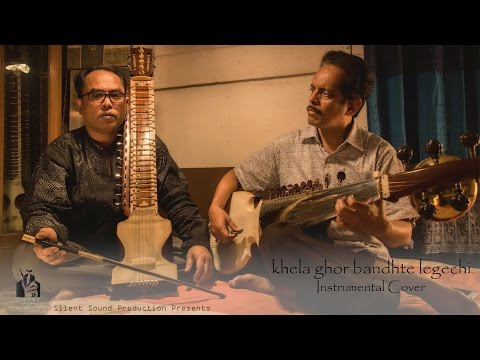 Khela Ghor Bandhte Legechi (Instrumental Cover) | Ajoy Mitra | Yousuf Khan | HD Video