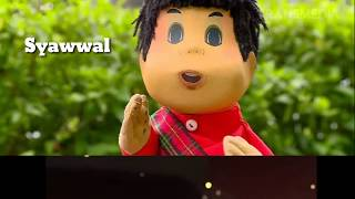 Lagu Anak Mengenal Bulan Hijriyah (Nada Twinkle twinkle little star)