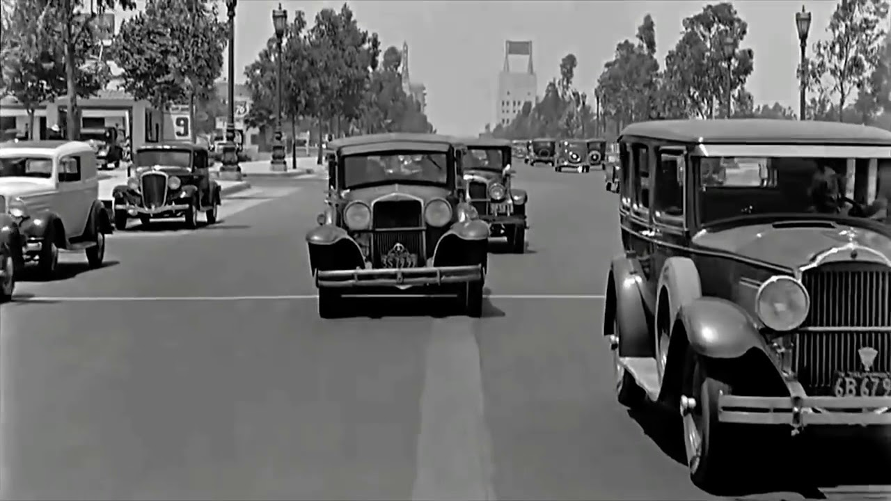 One of the First Dashcam Videos Beverly Hills 1930\'s Classic ...