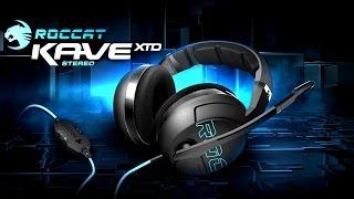 Игровая Гарнитура Roccat Kave XTD Stereo Обзор. Твердая 4