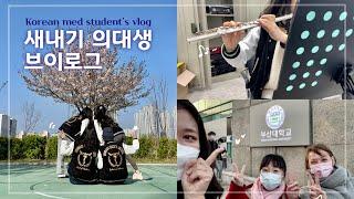 Eng) 드디어 과잠 나온 새내기 의대생 브이로그 | 동아리 활동 | 한국어 도우미 | Korean med student's vlog | Ep.5