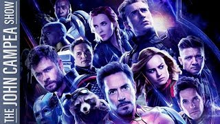 New Endgame Clip Reveals Avengers Plan For Thanos - The John Campea Show