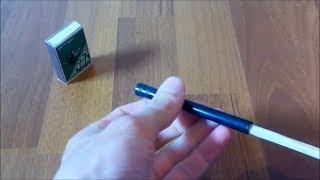 Как Сделать Самострел из Ручки 90 х годов. самострел своими руками. лайфхак с ручкой