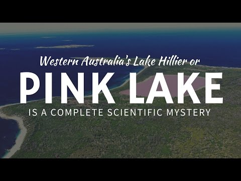 Pink Lake - Lac Rose d'Australie