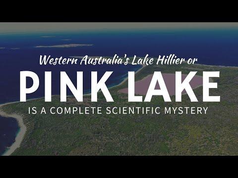 Pink Lake - Lac Rose d'Australie