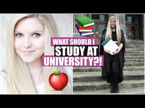 What Should I Study At University?! | Chyaz